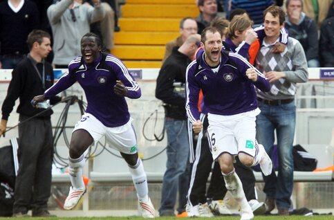 Anderlecht gagne son 30e titre pour le début des play-offs