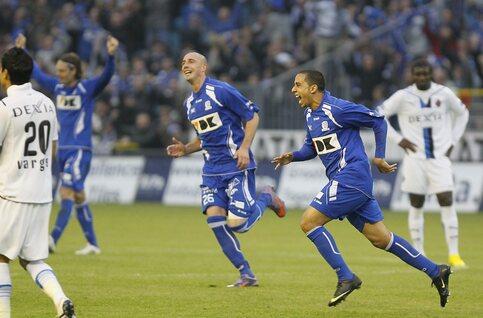 Gent snoept rivaal Club Brugge op nippertje tweede plaats af in eerste play-offjaar