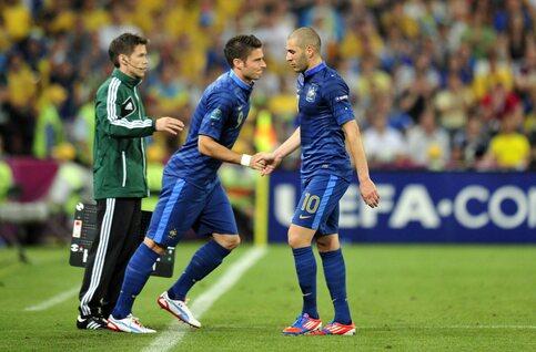 Benzema VS Giroud: quand les réseaux sociaux servent de ring de boxe