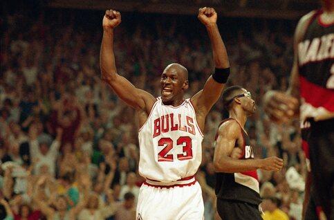 Nieuw op Netflix: Michael Jordan op toppunt van zijn roem in 'The Last Dance'