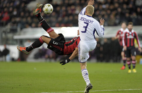 One day, one goal: le retourné de Mexès contre Anderlecht