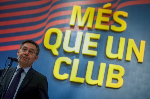 Nice to meet you ... Josep Bartomeu
