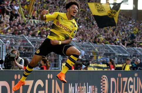 Nice to meet u... Jadon Sancho