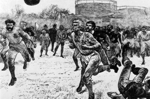 On this day: le premier match international de rugby