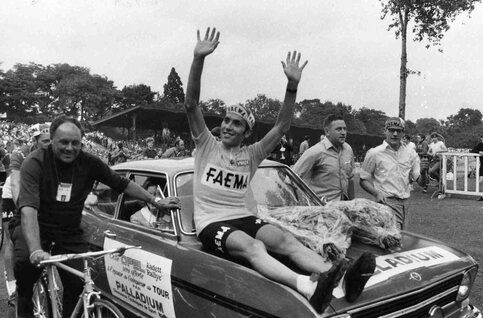 Cinq grands moments de la carrière d'Eddy Merckx