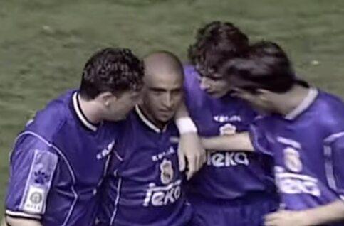 One day, one goal: Roberto Carlos verbaast met goal uit onwaarschijnlijke hoek