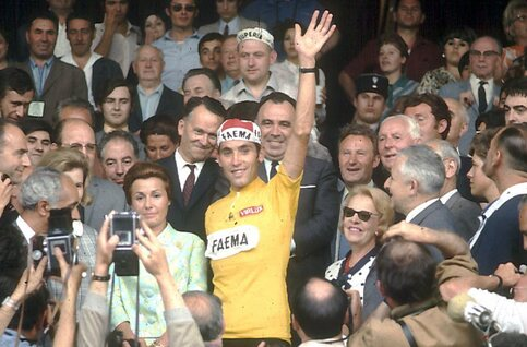 Eddy Merckx et le Tour de France 1969
