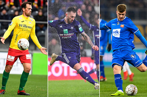 Jupiler Pro League transferoverzicht winter