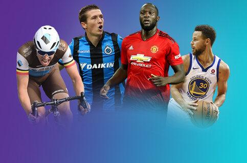 Niet te missen: deze sportevenementen kan je in april allemaal volgen via Proximus TV