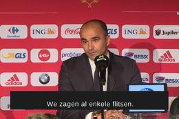 Persconferentie: Roberto Martinez over Maxime Lestienne