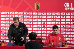 Conférence de presse: Thibaut Courtois