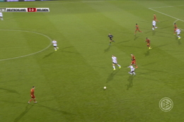 Goal: Allemagne (-21) 0 - 1 Belgique (-21) 26' Vanheusden