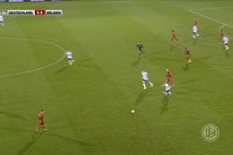 Goal: Duitsland (U21) 0 - 1 België (U21) 26' Vanheusden