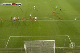 Goal: Allemagne (-21) 1 - 1 Belgique (-21) 38' Schlotterbeck