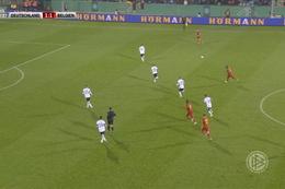 Goal: Duitsland (U21) 1 - 2 België (U21) 43' Openda