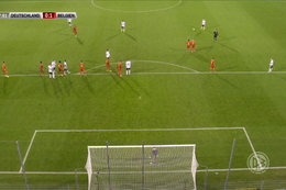 Goal: Duitsland (U21) 1 - 1 België (U21) 38' Schlotterbeck