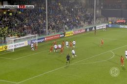 Goal: Duitsland (U21) 1 - 3 België (U21) 70' Openda