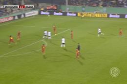 Goal: Allemagne (-21) 2 - 3 Belgique (-21) 81' Ache