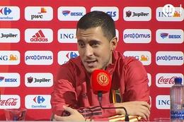 Conférence de presse: Eden Hazard