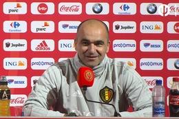 Conférence de presse: Roberto Martinez
