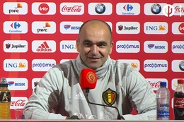Persconferentie: Roberto Martinez