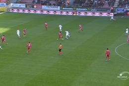 Goal: Moeskroen 0 - 1 Standard 6', Emond