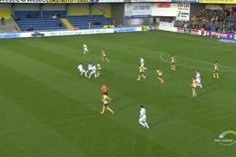 Goal: KVC Westerlo 0 - 1 Union Saint Gilloise 12', Fixelles