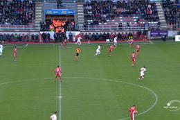 Goal: Moeskroen 2 - 2 Standard 91', Lestienne