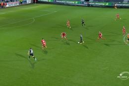 Goal: Eupen 1 - 0 KV Oostende 78', Embalo