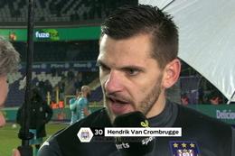 Interview Van Crombrugge na Anderlecht - Charleroi