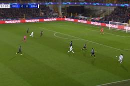 Goal: FC Bruges 0 - 1 Real Madrid 53', Rodrygo