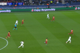 Goal: Paris SG 3 - 0 Galatasaray 47', Neymar