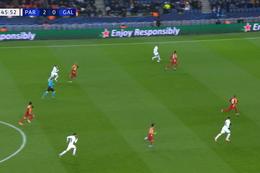 Goal: Paris SG 3 - 0 Galatasaray SK 47', Neymar