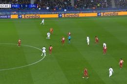 Goal: Paris SG 4 - 0 Galatasaray 63', Mbappé