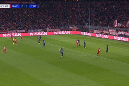 Goal: Bayern München 3 - 1 Tottenham Hotspur 61', Coutinho