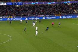 Goal: FC Bruges 1 - 3 Real Madrid 90', Modric