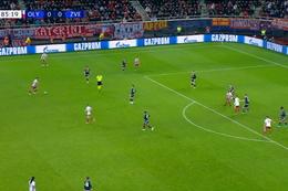 Penalty: Olympiakos Piraeus 1 - 0 Crvena Zvezda 87', El Arabi