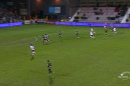 Goal: KV Kortrijk 1 - 0 Moeskroen  39', Mboyo