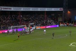 Goal: KV Kortrijk 1 - 1 Moeskroen 48', Olinga