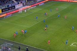 Goal: KAA Gent 1 - 1 Moeskroen 51', Osabutey