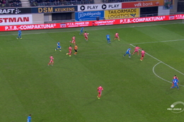 Goal: La Gantoise 3 - 1 Mouscron 77', David