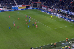 Goal: La Gantoise 2 - 1 Mouscron 74', David