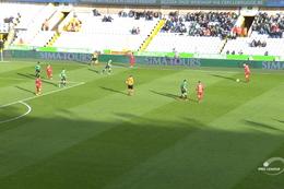 Goal: Cercle Bruges 1 - 1 Royal Antwerp 13', Refaelov