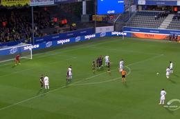 Goal: OH Louvain 1 - 1 Westerlo 45', Mercier