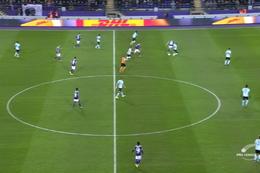 Goal: RSC Anderlecht 1 - 0 Club Brugge 22', Colassin