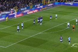 Goal: RSC Anderlecht 1 - 1 Club Brugge 40', Vanaken