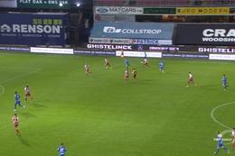 Goal: SV Zulte Waregem 0 - 1 Genk 23', Dewaest