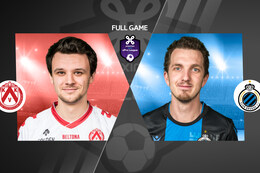 Speeldag 8: KV Kortrijk - Club Brugge