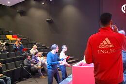 Conférence de presse: Nacer Chadli