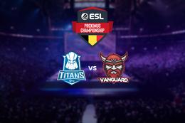 Demi finale : INtech Tenerife Titans vs Vanguard esports